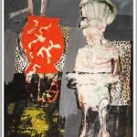 Rüdiger Giebler, 1995, Mischtechnik, 95,5 x 74,5