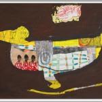 Rüdiger Giebler, 1997, Mischtechnik, 70 x 100