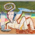 Rüdiger Giebler, 1996, Mischtechnik, 70 x 99
