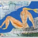 Rüdiger Giebler, 1996, Mischtechnik, 70 x 100