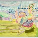 Rüdiger Giebler, 1996, Mischtechnik, 69,5 x 100