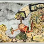 Rüdiger Giebler, 1994, Aquarell, 60 x 89