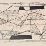 1953, Tusche Feder, 15,4 x 23,5 cm