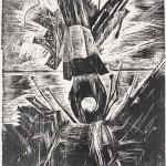 1927, Holzschnitt, 46,0 x 35,8 cm