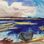 1968, Aquarell, 48,0 x 65,5 cm