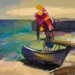 Fischerboote bei Vitte
