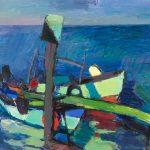 Kleine Fischerboote auf Rügen