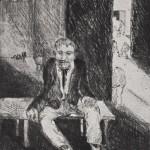 1924, Radierung, 29,6 x 22,7 cm, Blatt 50,0 x 40,0 cm