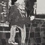 1923, Radierung, Aquatinta, 31,7 x 24,8 cm