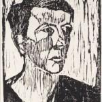 1957, Holzschnitt, 40,0 x 26,0 cm