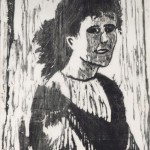1957, Holzschnitt, 47,0 x 26,0 cm