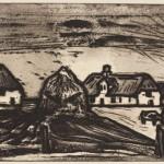 1956, Radierung, Aquatinta, 30,0 x 49,0 cm, Blatt 53,2 x 75,1 cm
