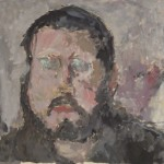 o. J., Öl auf Papier, 36,0 x 48,0 cm