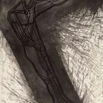 1983, Radierung, Aquatinta, Strichätzung, 64,0 x 49,0 cm