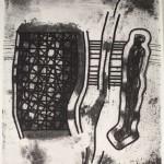 1983, Radierung, Aquatinta, 64,5 x 49,0 cm, Blatt 54,0 x 20,0 cm
