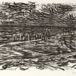 1966/67, Lithografie, 31,5 x 42,0 cm, Blatt 44,2 x 55,5 cm