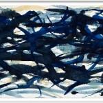 Aquarell auf dickem Bütten, 2004, 26,0 x 77,0 cm